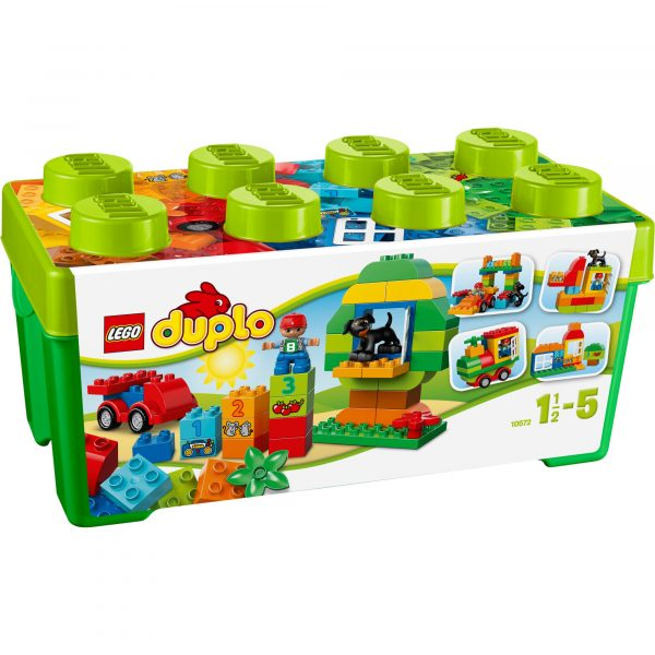 10572 - LEGO® DUPLO® Scatola costruzioni Tutto-i LEGO DUPLO Unisex 0-2 Anni, 12-36 Mesi, 3-4 Anni, 3-5 Anni, 5-8 Anni ALTRI