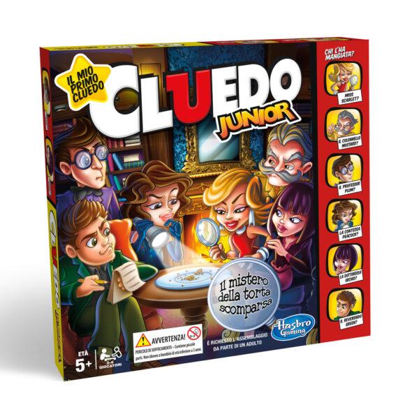 HASBRO GAMES ALTRI Cluedo Junior Unisex 12+ Anni, 3-5 Anni, 5-8 Anni, 8-12 Anni