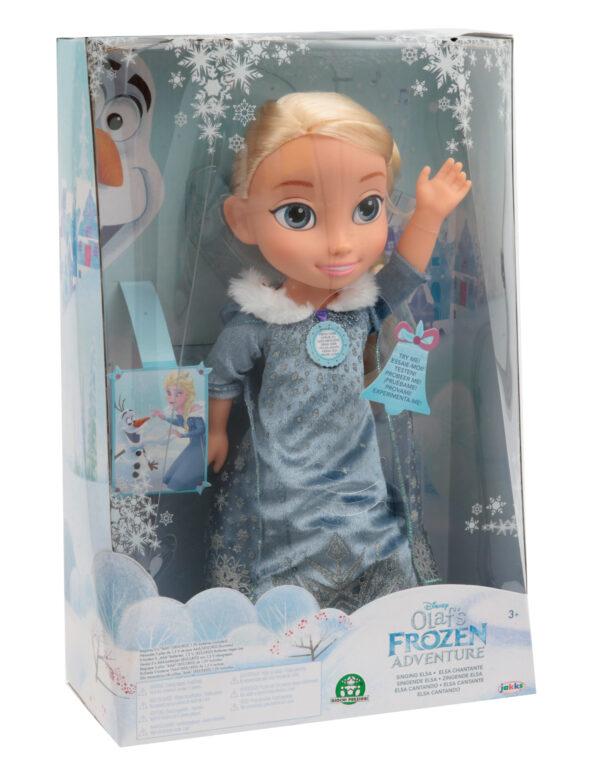 Frozen Elsa bambola cantante Femmina 12-36 Mesi, 3-5 Anni, 5-8 Anni Disney Frozen Disney