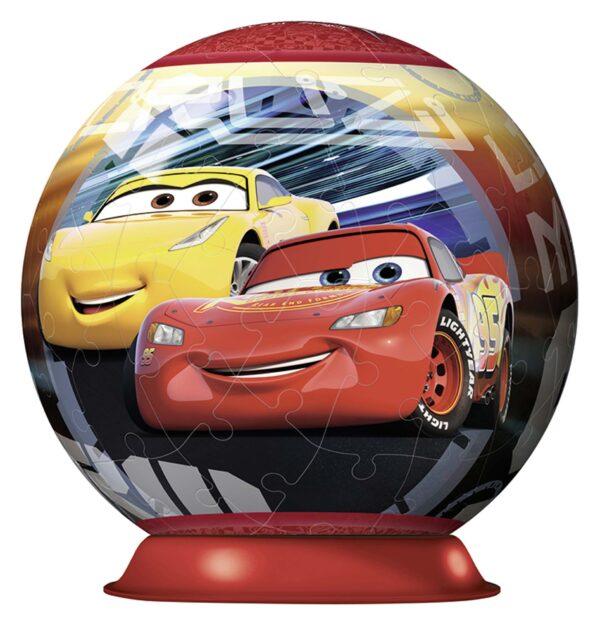 3D Puzzleball - Cars 3 - Altro - Toys Center CARS Unisex 5-8 Anni, 8-12 Anni ALTRO
