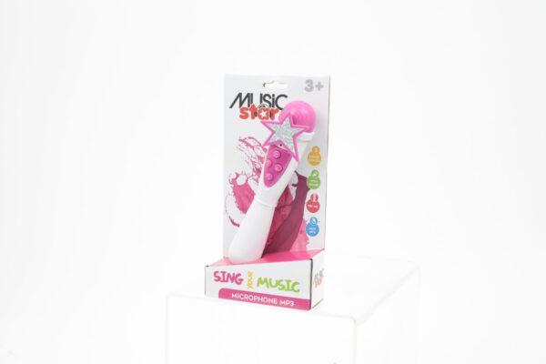 MUSIC STAR Microfono karaoke da bambina MUSIC STAR Femmina 12-36 Mesi, 12+ Anni, 3-5 Anni, 5-7 Anni, 5-8 Anni, 8-12 Anni MUSICSTAR