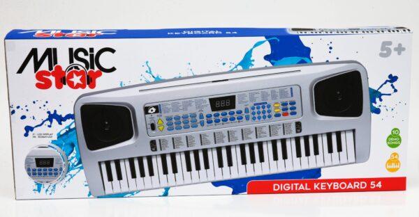 TASTIERA DIGITALE 54 TASTI - Musicstar - Toys Center - MUSICSTAR - Fino al -30%