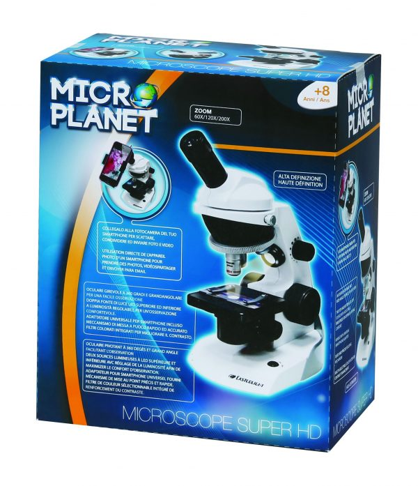 MICROSCOPIO 360 HD - Microplanet - Toys Center - MICROPLANET - Fino al -30%