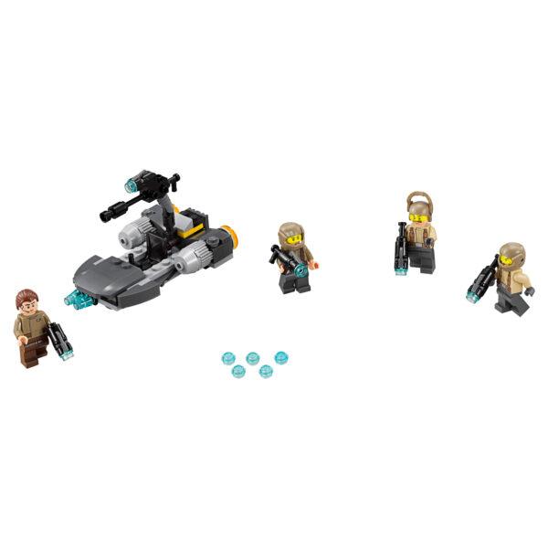 Disney Star Wars 75131 Battle Pack Resistenza - Disney - Toys Center Maschio 5-7 Anni, 5-8 Anni, 8-12 Anni