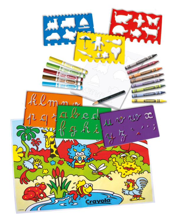 Fantasia di stencils - Altro - Toys Center ALTRI Unisex  ALTRO