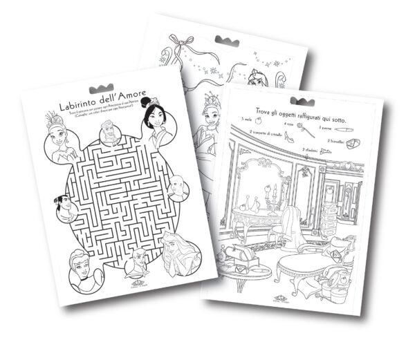 Album Attività&Coloring Disney Principesse - BINNEY & SMITH - Marche PRINCIPESSE DISNEY Femmina  Disney