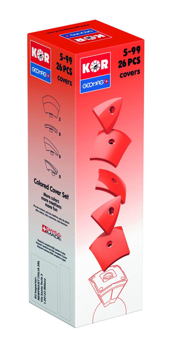KOR Color Cover Red - GEOMAGWORLD - Marche - KOR - Costruzioni