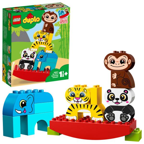 10884 - I miei primi animali equilibristi - Lego Duplo - Toys Center LEGO DUPLO Unisex 0-12 Mesi, 12-36 Mesi, 12+ Anni, 3-5 Anni, 5-8 Anni, 8-12 Anni ALTRI