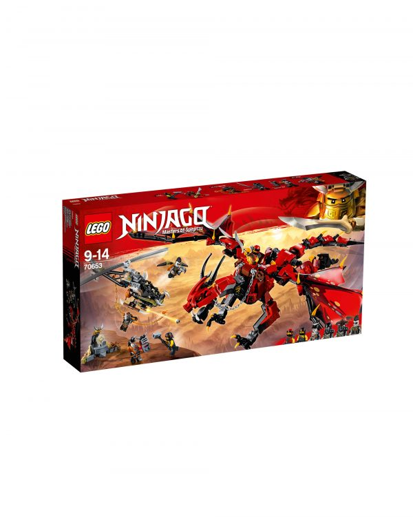 70653 - Dragone del destino - Lego Ninjago - Toys Center LEGO NINJAGO Unisex 12+ Anni, 8-12 Anni ALTRI