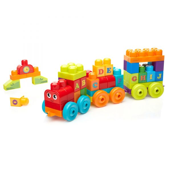 Mega first Builders - Impara con il treno! MEGA BLOKS Maschio 0-12 Mesi, 12-36 Mesi, 12+ Anni, 8-12 Anni ALTRI