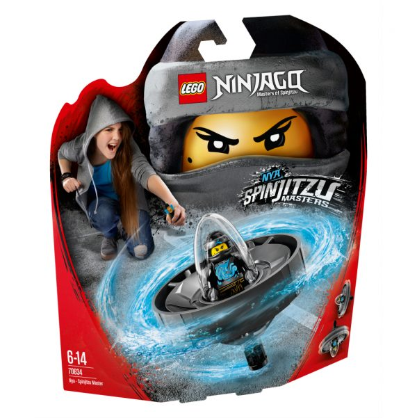 70634 - Nya - Maestro di Spinjitzu - Lego Ninjago - Toys Center LEGO NINJAGO Maschio 12+ Anni, 5-8 Anni, 8-12 Anni ALTRI