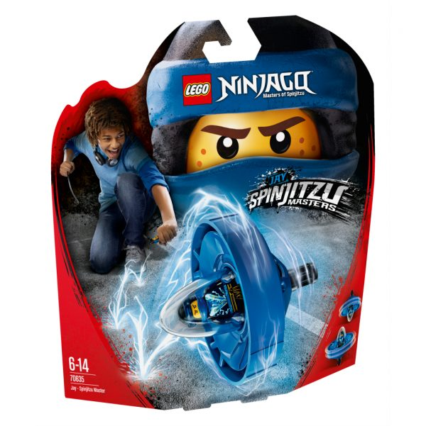 70635 - Jay - Maestro di Spinjitzu - Lego Ninjago - Toys Center LEGO NINJAGO Maschio 12+ Anni, 5-8 Anni, 8-12 Anni ALTRI