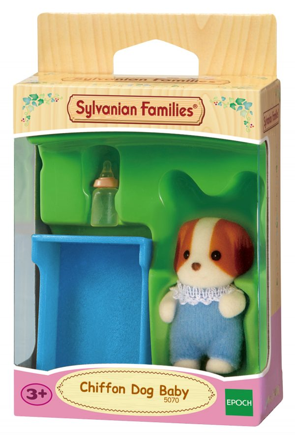Sylvanian Families – Bebè cane chiffon SYLVANIAN FAMILIES Femmina 12-36 Mesi, 3-4 Anni, 3-5 Anni, 5-7 Anni, 5-8 Anni, 8-12 Anni ALTRI