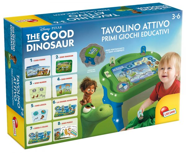 Tavolino attivo The Good Dinosaur DISNEY - PIXAR Unisex 12-36 Mesi, 3-4 Anni, 3-5 Anni, 5-7 Anni, 5-8 Anni THE GOOD DINOSAUR