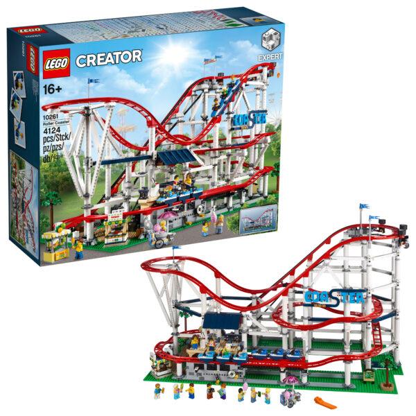 Lego Creator Expert- Montagne Russe - 10261 LEGO CREATOR EXPERT Unisex 12+ Anni ALTRI