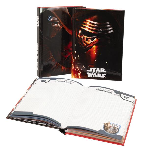 Diario Scuola 10 mesi - Star Wars - Età Disney Maschio 3-5 Anni, 5-7 Anni, 5-8 Anni, 8-12 Anni Star Wars