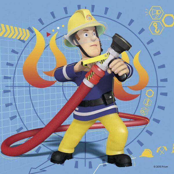 Sam il pompiere 3 in a box SAM IL POMPIERE Maschio 3-5 Anni ALTRO
