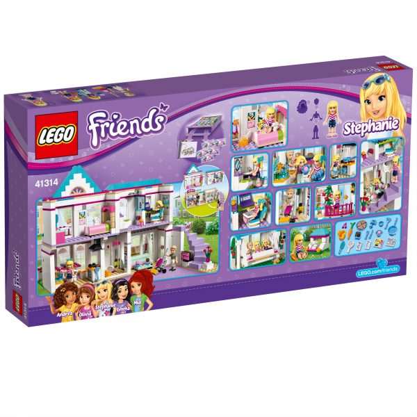 41314 - La casa di Stephanie - Lego Friends - Toys Center ALTRI Femmina 5-7 Anni, 8-12 Anni LEGO FRIENDS