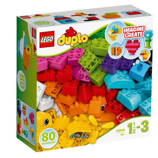 10848 - I miei primi mattoncini LEGO DUPLO Unisex 0-2 Anni, 3-4 Anni ALTRI