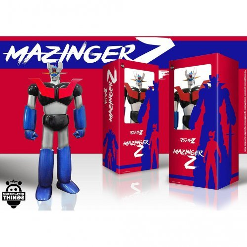 Robot Vinile Mazinger 55 cm - Altro - Toys Center ALTRI Maschio 12+ Anni, 3-5 Anni, 5-8 Anni, 8-12 Anni ALTRO