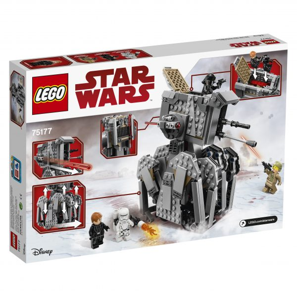 75177 - First Order Heavy Scout Walker™ - Disney - Pixar - Toys Center Star Wars Maschio 12+ Anni, 8-12 Anni DISNEY - PIXAR