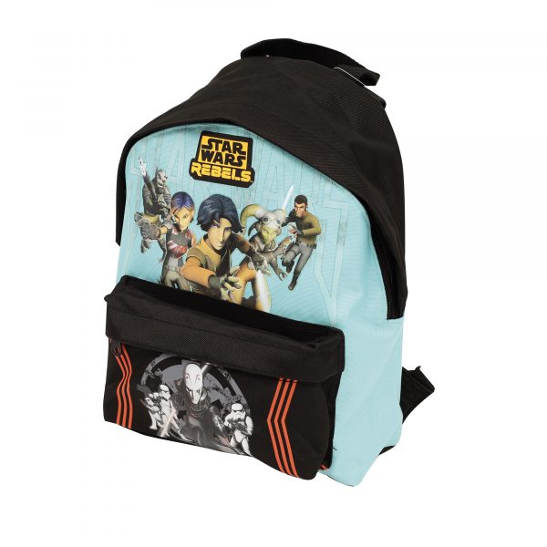 Zaino Scuola e tempo libero in stoffa - Star Wars Rebels - Disney - Toys Center - Disney - Fino al -20%