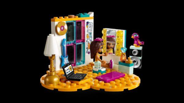 LEGO Friends  - La cameretta di Andrea - 41341 Unisex 12+ Anni, 5-8 Anni, 8-12 Anni ALTRI LEGO FRIENDS