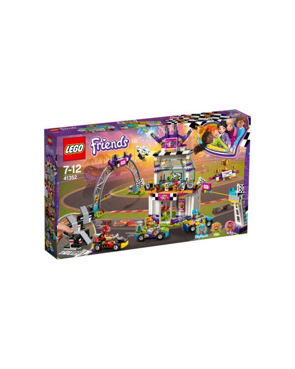 LEGO Friends  - La grande corsa al go-kart 41352 LEGO FRIENDS Unisex 12+ Anni, 5-8 Anni, 8-12 Anni ALTRI