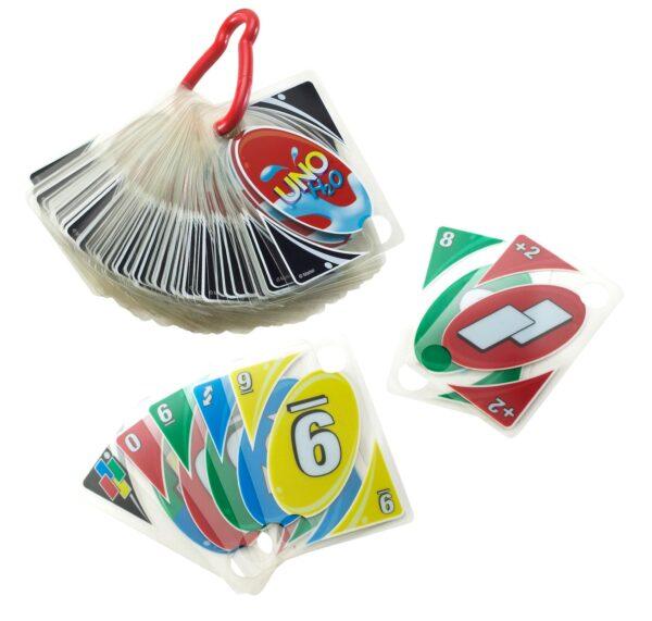 UNO ALTRI Carte UNO H2O - Giocattoli Toys Center Unisex