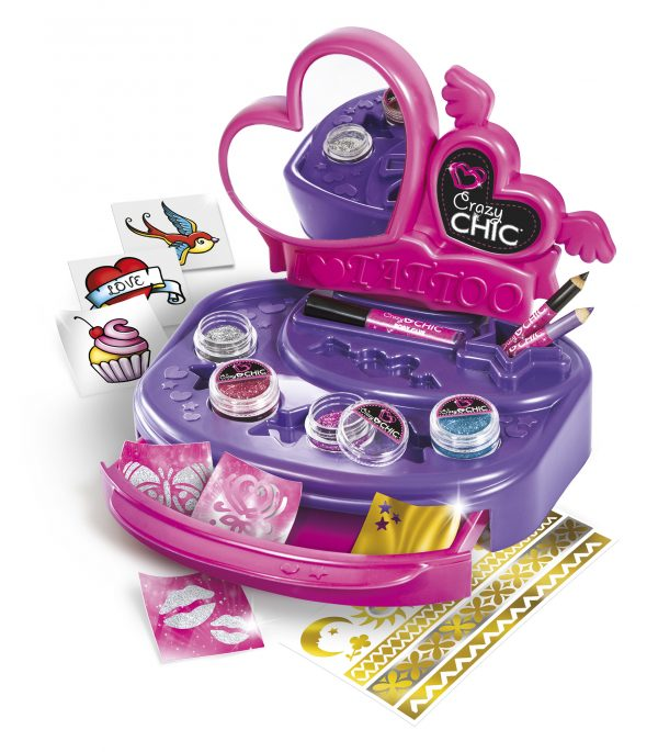 Crazy Chic - Banchetto dei Tattoo - Crazy Chic - Toys Center ALTRI Unisex 0-12 Mesi, 12-36 Mesi, 3-5 Anni, 5-7 Anni, 5-8 Anni CRAZY CHIC