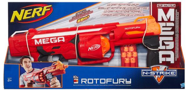 Nerf Mega RotoFury NERF Maschio 12+ Anni, 5-8 Anni, 8-12 Anni ALTRI