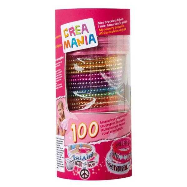 CREAMANIA Tubo con braccialetti 2 mod CREAMANIA GIRL Femmina 3-5 Anni, 5-8 Anni ALTRI