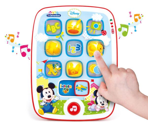 TOPOLINO&CO. Disney Unisex 0-12 Mesi, 0-2 Anni, 12-36 Mesi, 3-5 Anni, 5-8 Anni I Tablet diBaby  Mickey