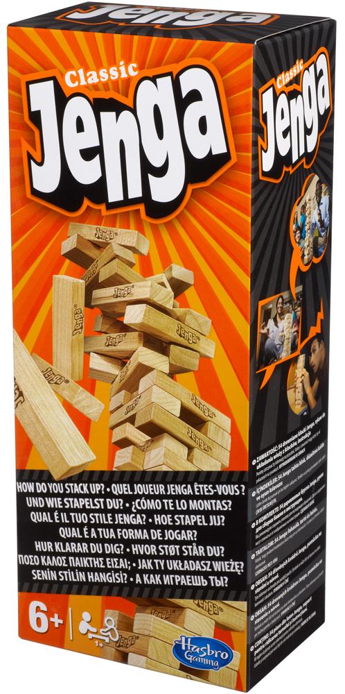Jenga - Hasbro Gaming - Toys Center HASBRO GAMING Unisex 12+ Anni, 5-7 Anni, 5-8 Anni, 8-12 Anni ALTRI