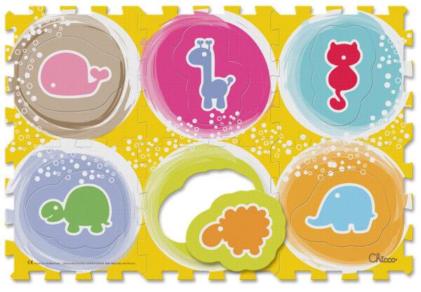 Tappeto Puzzle Animali - ARTSANA - Marche ALTRI Unisex 0-12 Mesi Chicco