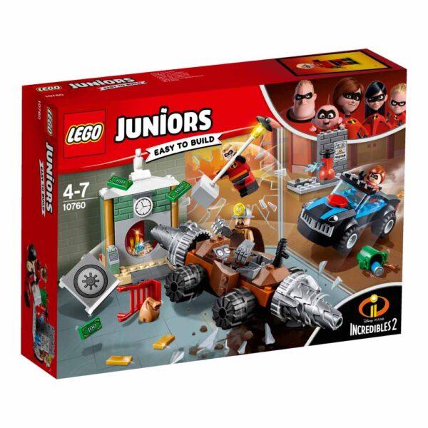 10760 - Rapina in banca del minatore - Lego Juniors - Toys Center LEGO JUNIORS Unisex 3-5 Anni, 5-8 Anni Gli Incredibili 2