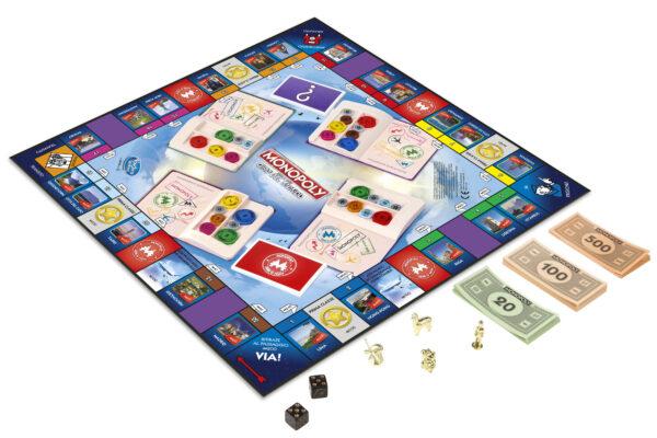 Monopoly Giro Del Mondo - Hasbro Gaming - Toys Center ALTRI Unisex 12+ Anni, 5-8 Anni, 8-12 Anni HASBRO GAMING