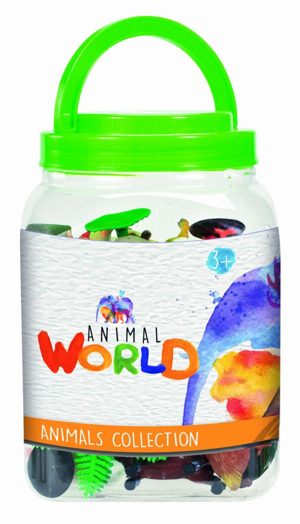 ANIMAL WORLD Barattolo animali ALTRI Unisex 0-12 Mesi, 12-36 Mesi, 3-5 Anni, 5-8 Anni ANIMAL WORLD