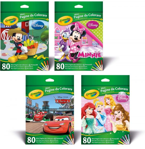 Mini Pagine da Colorare Disney assortite - Altro - Toys Center ALTRO Unisex  ALTRI