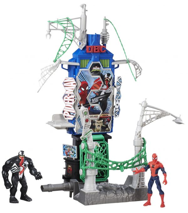 Web City Daily Batt Playset Spiderman Maschio 3-4 Anni, 3-5 Anni, 5-7 Anni, 5-8 Anni, 8-12 Anni Marvel