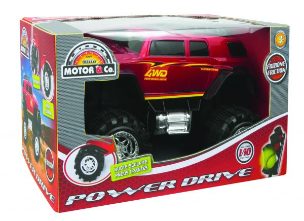 MOTOR&CO Monster truck Power drive TOYS CENTER Maschio 12-36 Mesi, 12+ Anni, 3-5 Anni, 5-8 Anni, 8-12 Anni MOTOR & CO