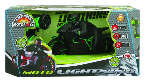MOTO LIGHTNING TOYS CENTER Maschio 12+ Anni, 3-5 Anni, 5-8 Anni, 8-12 Anni MOTOR & CO