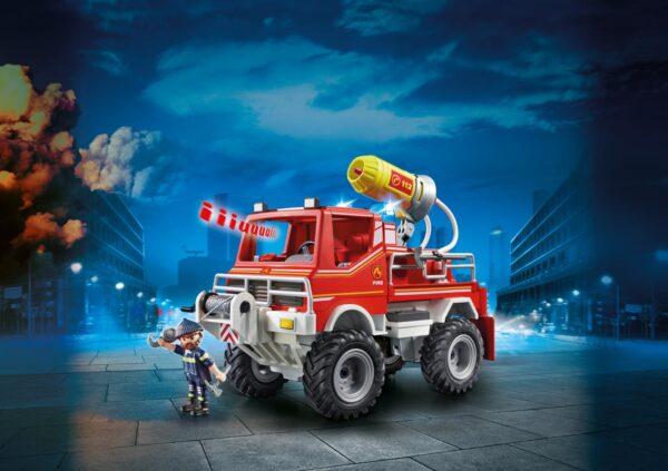 CAMION SPARA ACQUA DEI VIGILI DEL FUOCO - Playmobil - City Action - Toys Center ALTRI Unisex 12+ Anni, 3-5 Anni, 5-8 Anni, 8-12 Anni PLAYMOBIL - CITY ACTION
