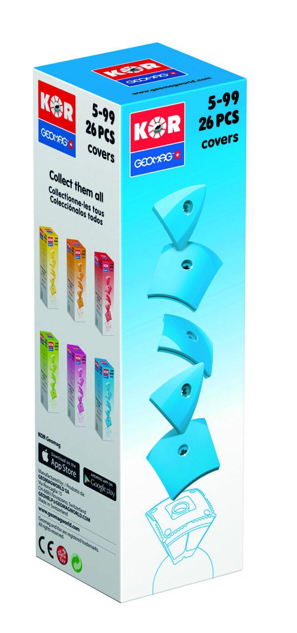 KOR Color Cover Blue - GEOMAGWORLD - Marche - KOR - Costruzioni