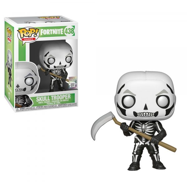 Pop Games: Fortnite S1 - Skull Trooper ALTRO Unisex 12-36 Mesi, 12+ Anni, 3-5 Anni, 5-8 Anni, 8-12 Anni FORTNITE