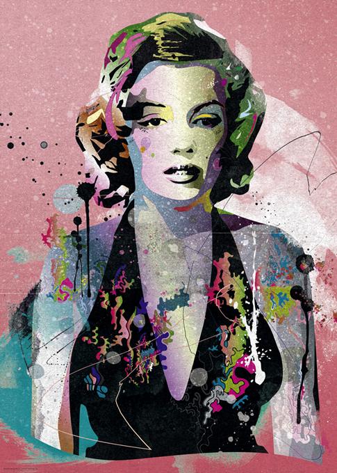 Marilyn - GRAFUS - Marche ALTRO Unisex 12+ Anni, 8-12 Anni ALTRI