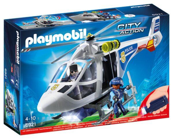 Elicottero della polizia con luce di avvistamento - PLAYMOBIL - CITY ACTION - Fino al -30%