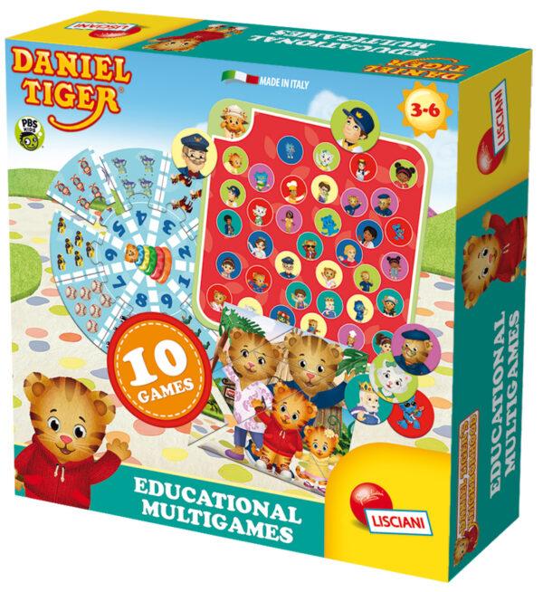 Daniel tiger educational multigames ALTRO Unisex 12-36 Mesi, 3-4 Anni, 3-5 Anni, 5-7 Anni, 5-8 Anni DANIEL TIGER