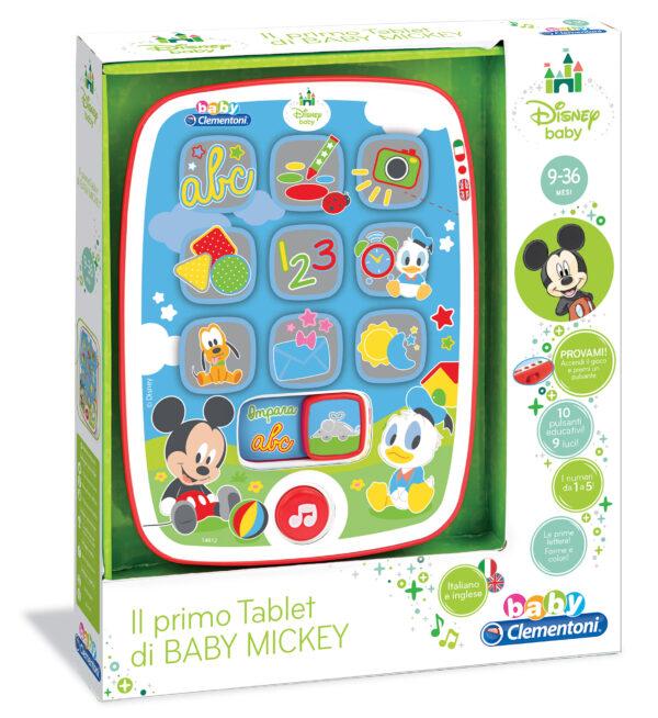 I Tablet diBaby  Mickey TOPOLINO&CO. Unisex 0-12 Mesi, 0-2 Anni, 12-36 Mesi, 3-5 Anni, 5-8 Anni Disney