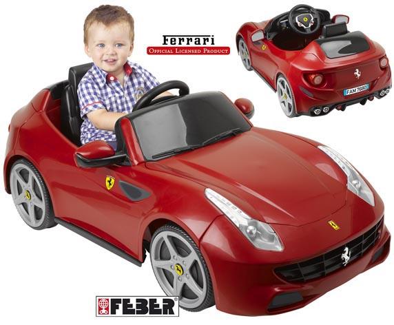 Ferrari FF 6V FERRARI Unisex 0-12 Mesi, 0-2 Anni, 12-36 Mesi, 3-4 Anni, 3-5 Anni ALTRI